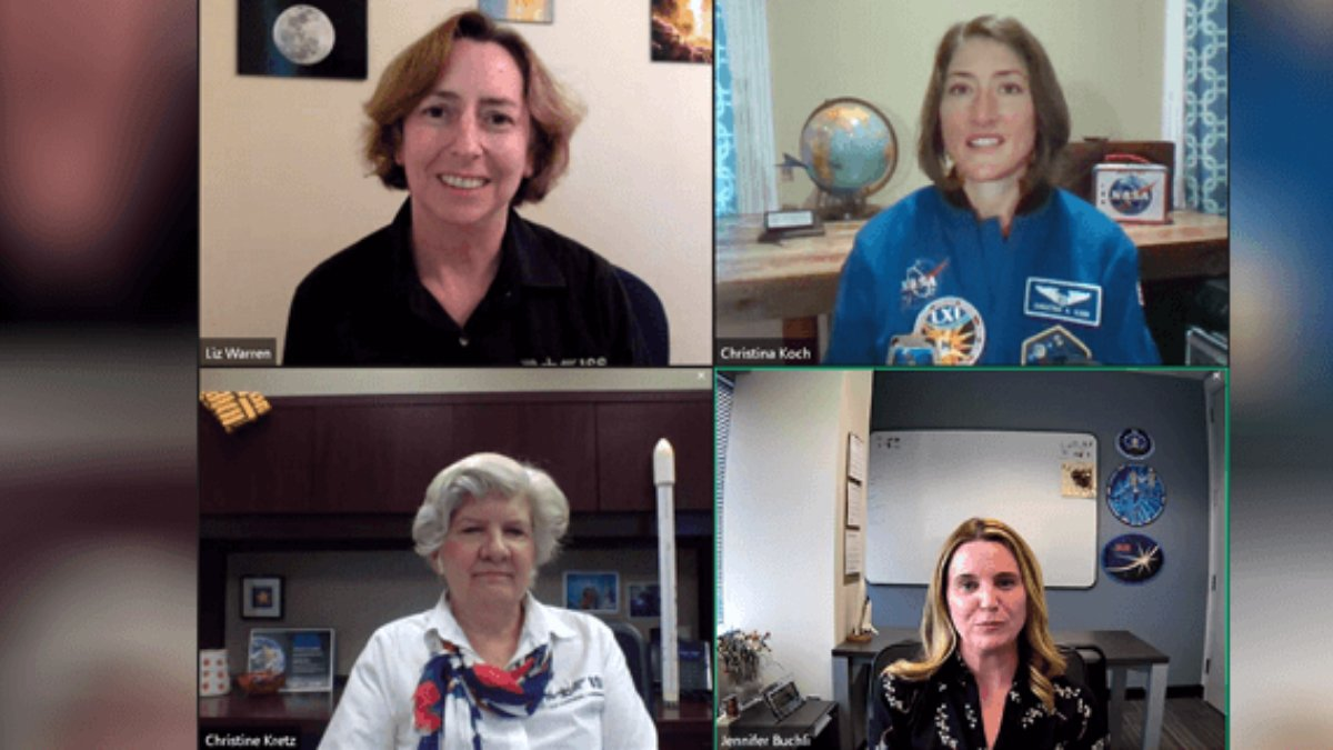 #ICYMI @Astro_Christina and representatives from @NASA and @ISS_CASIS discuss @ISS_Research and benefits during International Destination Station. Interested in learning how to advance your research? Recordings of the event can be found here go.nasa.gov/31IHmDw