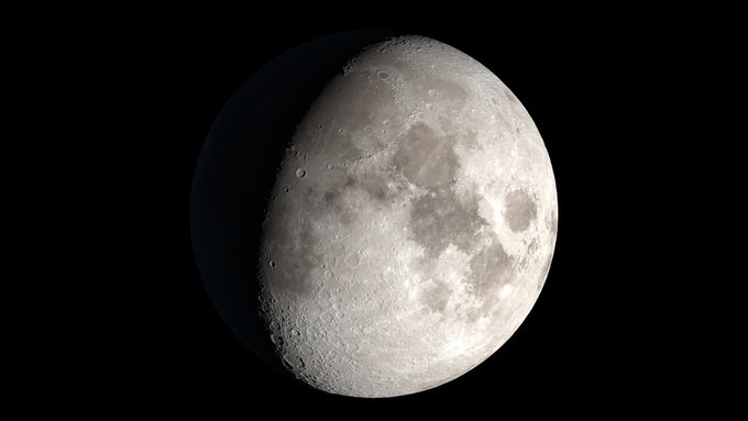 Understanding the Moon🌘 helps us piece together the history of water in the inner solar system and on other airless bodies like asteroids — and also supports future human 👩🚀👨🚀space exploration. go.nasa.gov/2G1dgnb