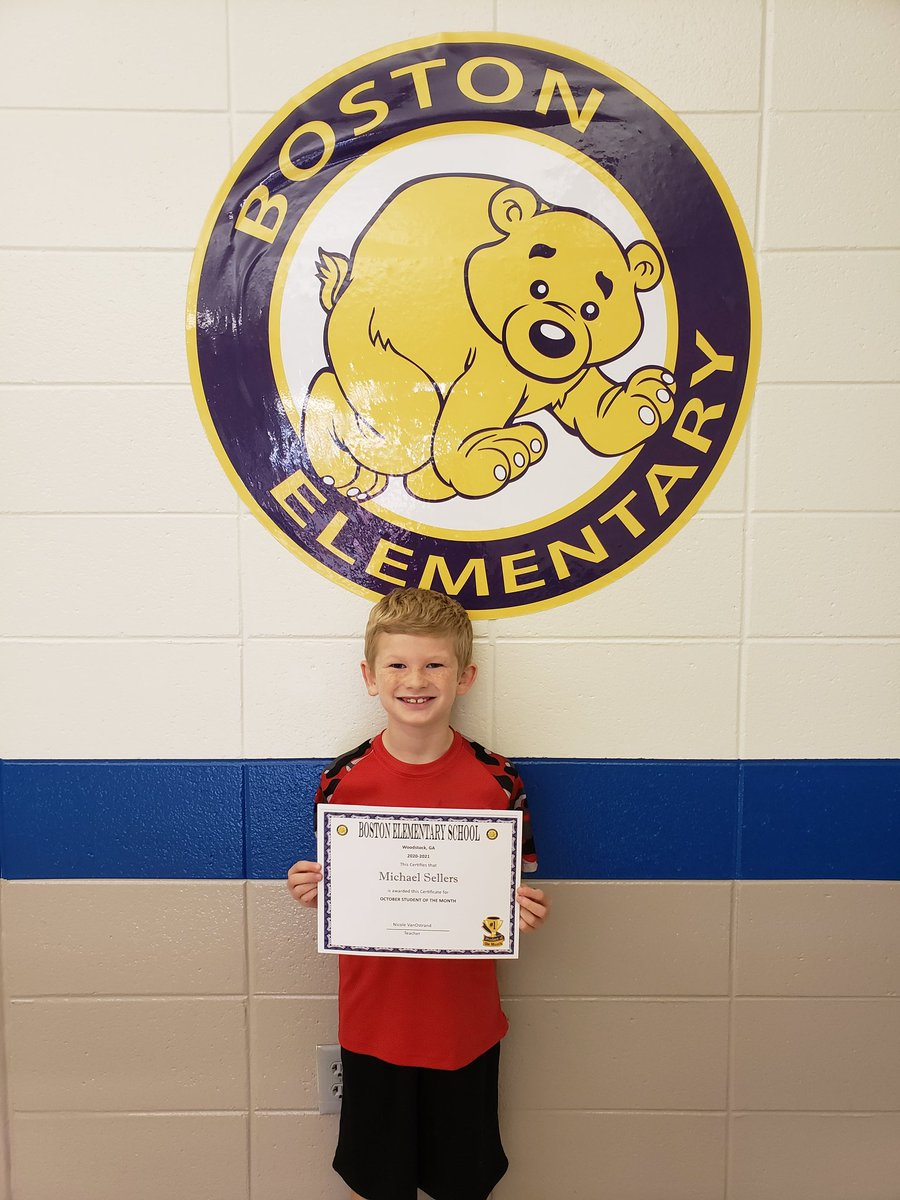 Congratulations to our October Student of the Month! 💙🐻💛  #mybestme  #bemore  @Bostonkidscount https://t.co/LTYGDyMcO1