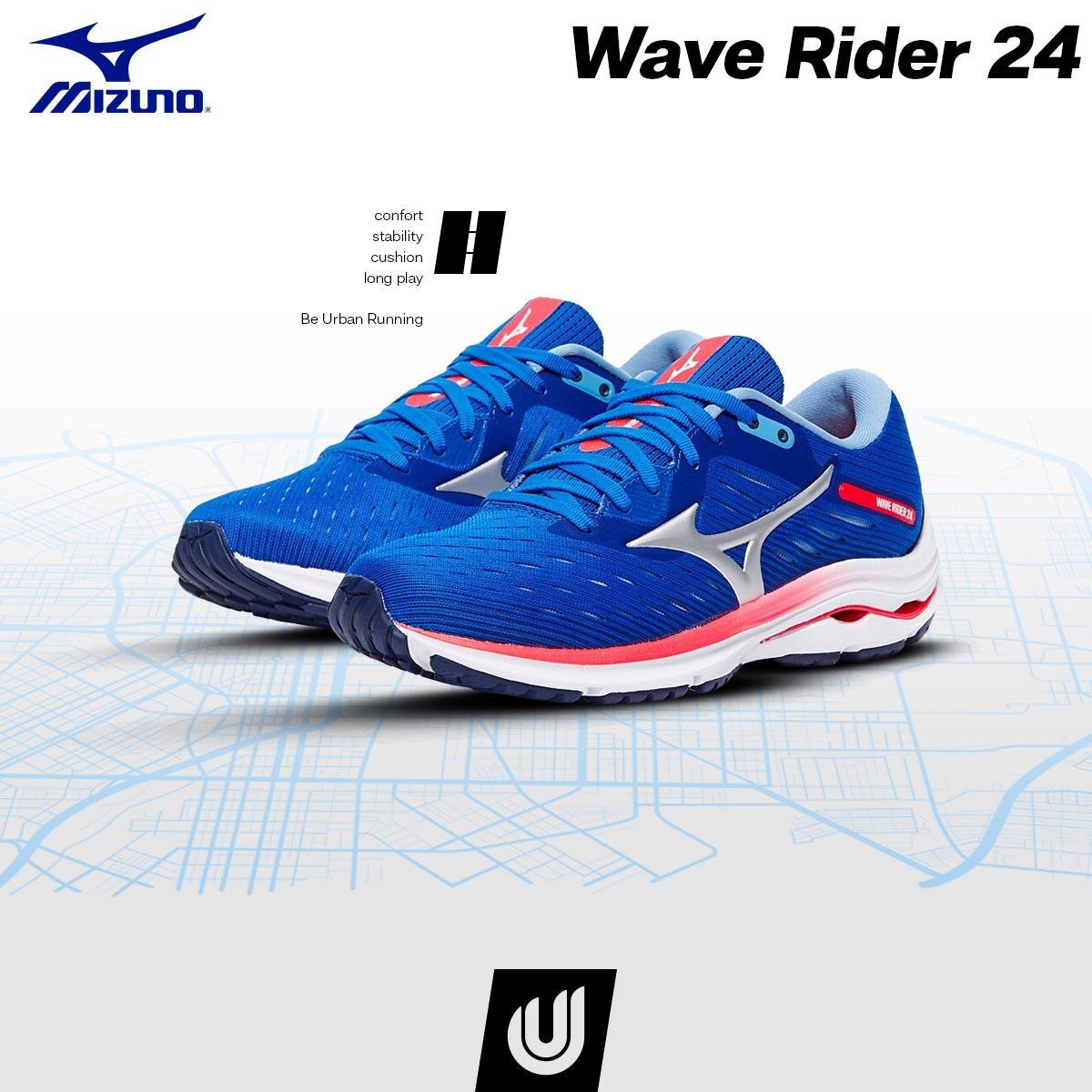 Si buscas unas zapatillas de entrenamientos para hacer kilómetros y kilómetros, las 👟Mizuno Wave Rider 24👟 son tu modelo. #BeUrbanRunning #BeMore #TuTiendaEspecialista #Run #Running #Mizuno #ZapatillasRunning #Entrenamiento https://t.co/R6Re11mJ5m