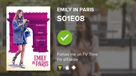 Je viens de regarder l'épisode S01E08 de Emily in Paris ! #emilyinparis  #tvtime https://t.co/3PXLxNA2pn https://t.co/HNo0feHME7