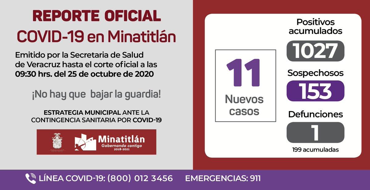 #Minatitlán #Covid19 https://t.co/JrOzrhKK8L