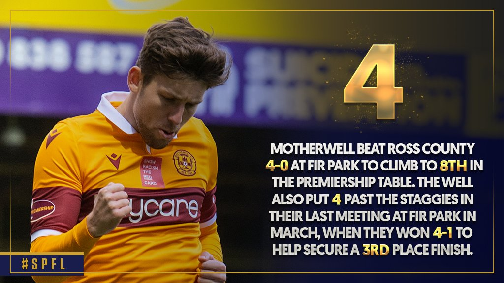 🔢⚽️ The Steelmen are up to 8⃣th in the Premiership  Read @SPLstats' Weekend in Numbers 👉 https://t.co/r3CGrckD6Y  #SPFL | @MotherwellFC https://t.co/SYdMw2RzLg