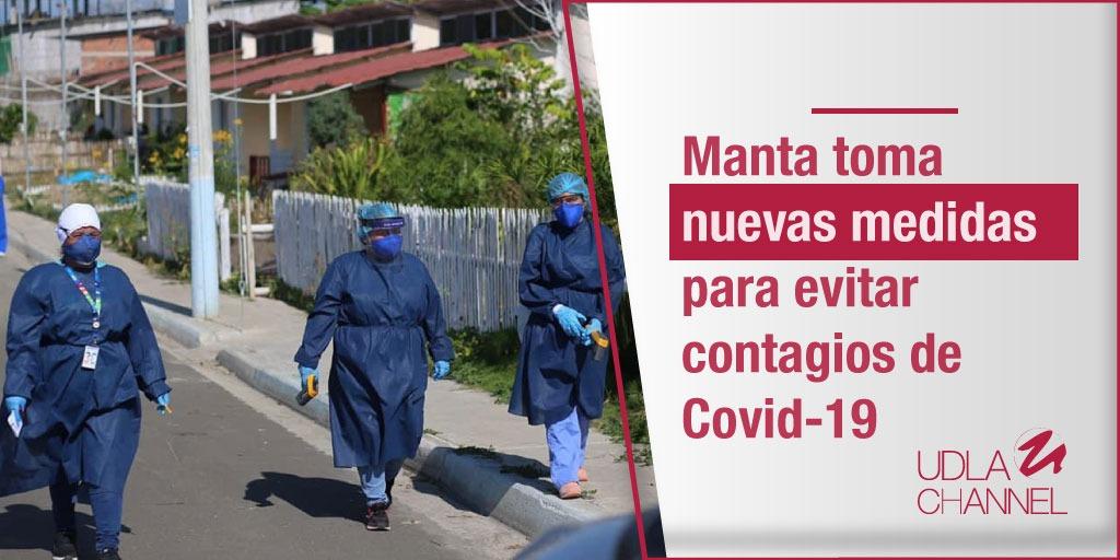 #Nacionales I Tras el feriado del 9 de octubre, el @MinisteriodeSa1 registró un aumento de contagios de #COVID19 en #Manta. Por lo que el Comité de Operaciones de Emergencia de ese cantón redujo el aforo en restaurantes, bares y prohibió la apertura de cementerios. https://t.co/lZEfSNw4MO