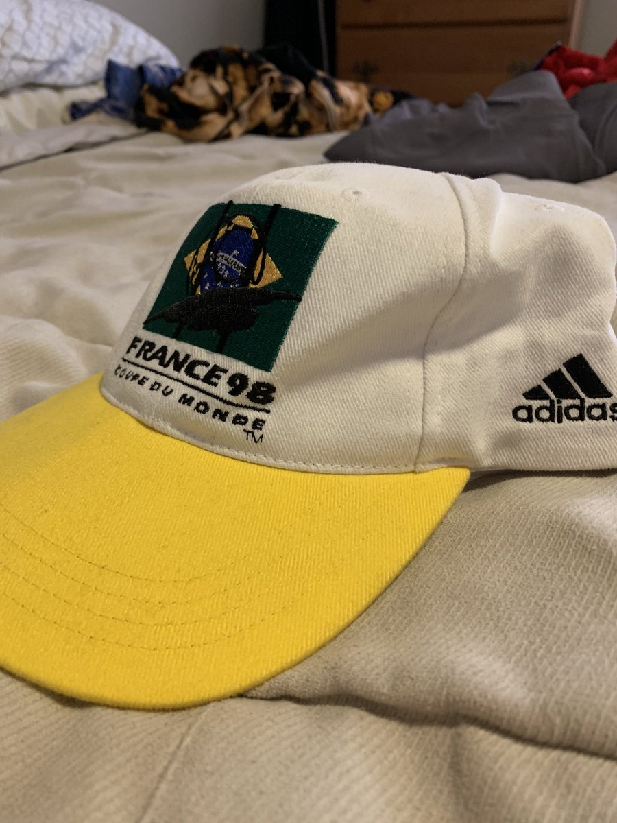 Brazil France 98 hat BNWT, $35 https://t.co/gaT7vLDLPt