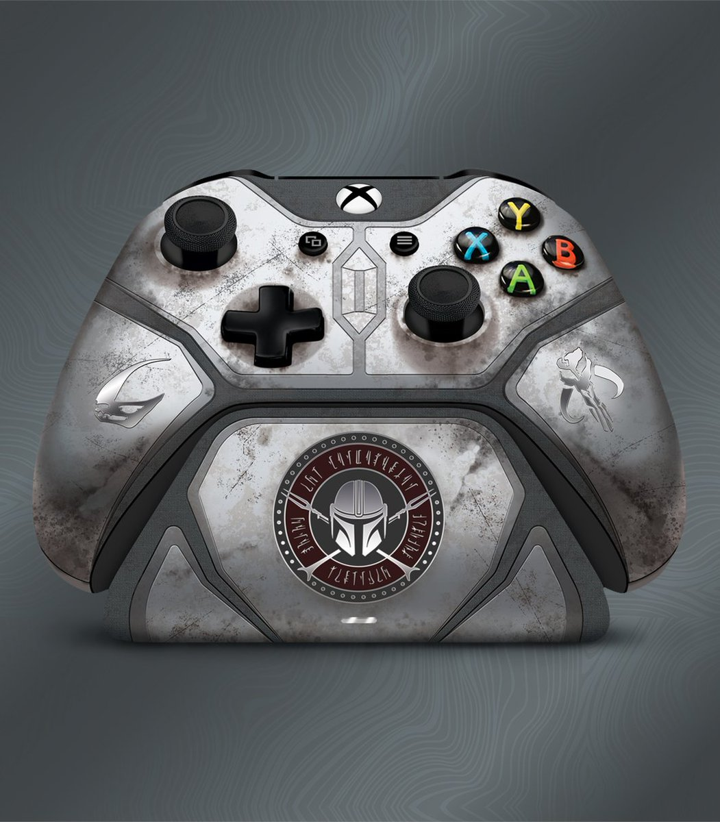 The Mandalor is not a race, it's a creed and well, it's also now a controller.  https://t.co/9AprFvYuyn https://t.co/lTN3aSO9sC