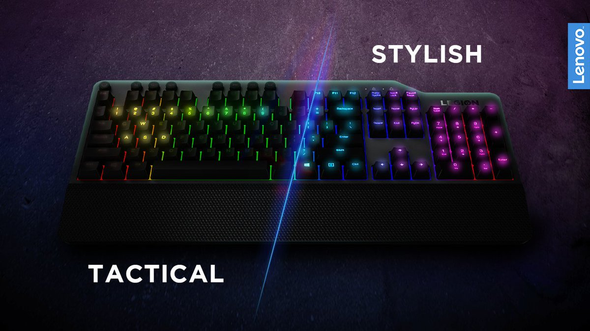 We love to light up every single key of our Legion RGB keyboard. ✨ But we saw some fellow gamers using some tactical RGB setups - that's clever!   Maybe we should try this too… https://t.co/PTmGUAc4gD