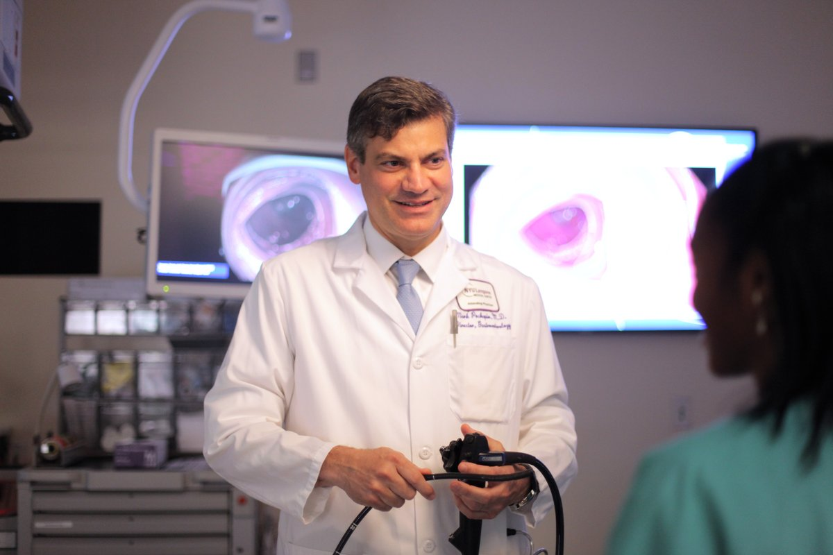Congratulations to gastroenterologist Dr.@MarkPochapin for his work as president of @AmCollegeGastro during such an unprecedented year amid #COVID19. Your leadership both for the College and @nyulangone has been invaluable! #ACG2020 #gastroenterology