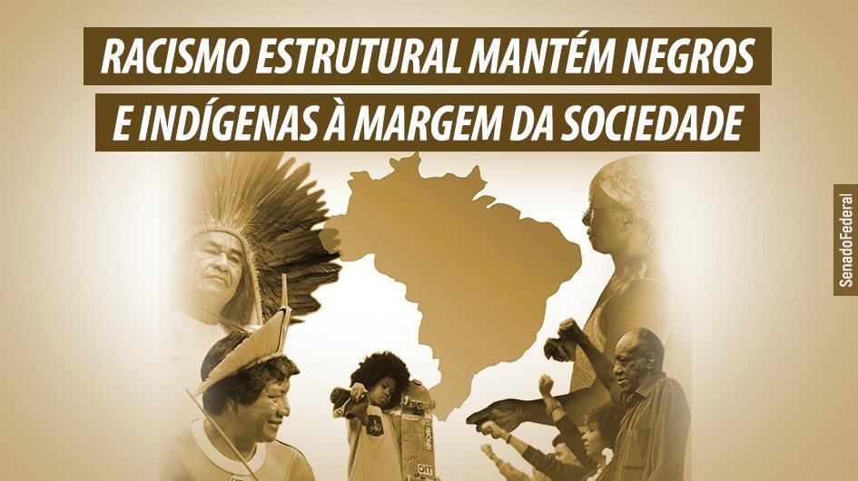 As estatísticas não deixam dúvidas. O Brasil é, sim, um país racista. As posições subalternas da sociedade são, na maioria, ocupadas por negros e indígenas. Eles são as vítimas preferenciais da pobreza e da violência. https://t.co/O5fd4qqNrT https://t.co/xFaCfMHV3q