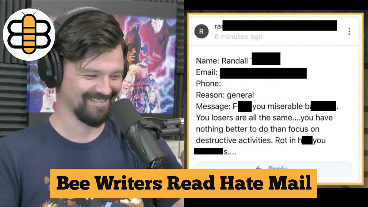 "🎙 Every week, we read delicious hate mail from our haters. This one calls us out for partaking in ""destructive activities."" WATCH FULL ▶️ youtu.be/eClufDCikB4"