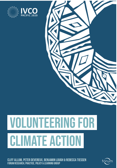 We're are attending this year's annual @forumids global conference #IVCO2020 on #Volunteering for #ClimateAction  It's the first online conference for Forum. Well done to our partners in @AustVolunteers in leading on this year's conference https://t.co/ea2qzywNJy