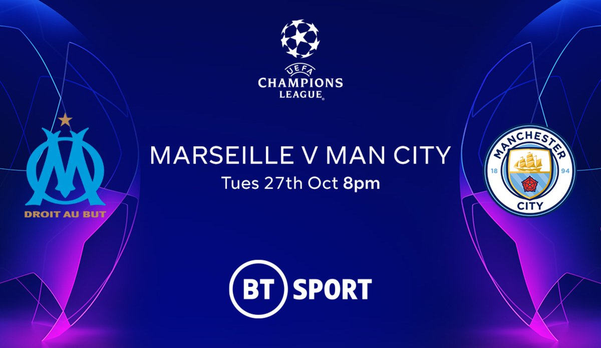 TOMORROW it's Champions League Night Live here at @tivertontownfc  ⚽️ Marseille v Man City ⚽️ Liverpool v Midtjylland 📅 Tuesday 27th October ⏰ 8:00pm KO  📺 LIVE on our BIG screens 🍻 Bar open from 7.00pm #Championsleague #ManCity #Liverpool https://t.co/dw170yBitE