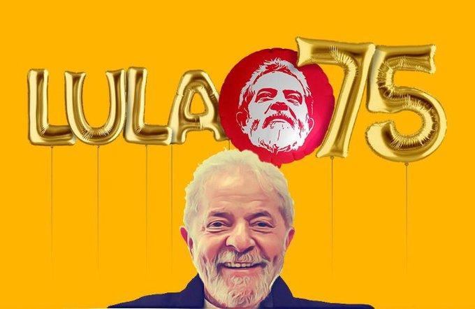 Feliz aniversário, Lula!