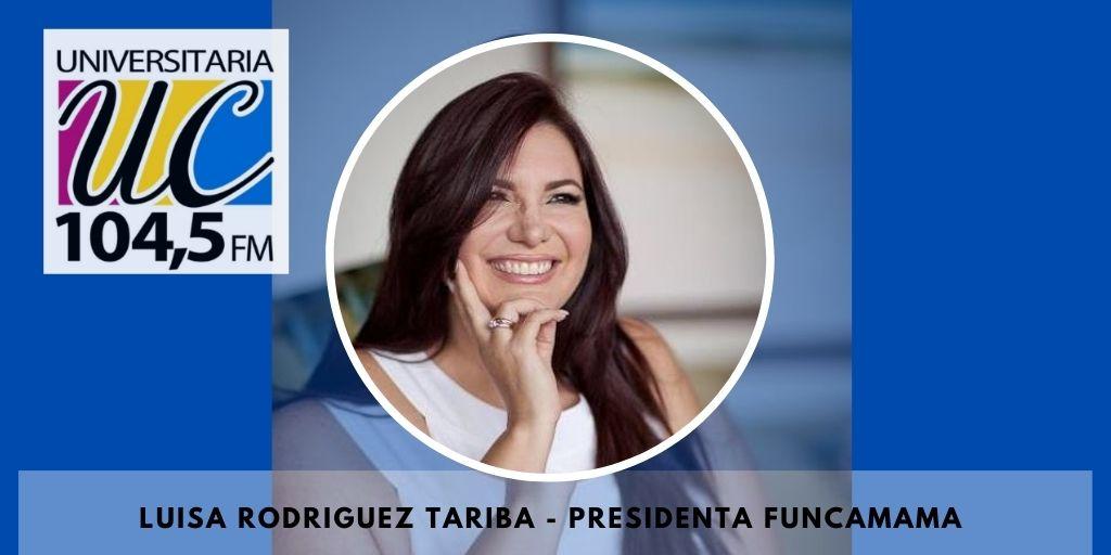 #26Octubre  || Escucha en este momento en #LaEntrevista a Luisa Rodriguez Tariba presidenta de @FUNCAMAMA, quien conversa sobre la situación de la lucha contra el cancer de mama en #Venezuela #LaUniversidadSonora https://t.co/kmTdQtDLvA