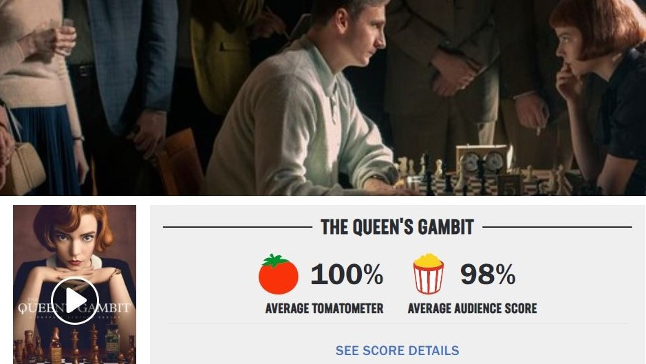 "test Twitter Media - ""This series motivated me to start practicing chess again,"" wrote one of our followers on Instagram. #TheQueensGambit https://t.co/9oQ5ir4EOI"