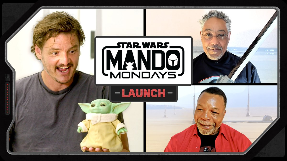 The #MandoMondays digital kickoff event starts NOW! Tune in via Star Wars YouTube for a bounty of epic product reveals and surprises inspired by #TheMandalorian Watch now: strw.rs/6008G7vVI