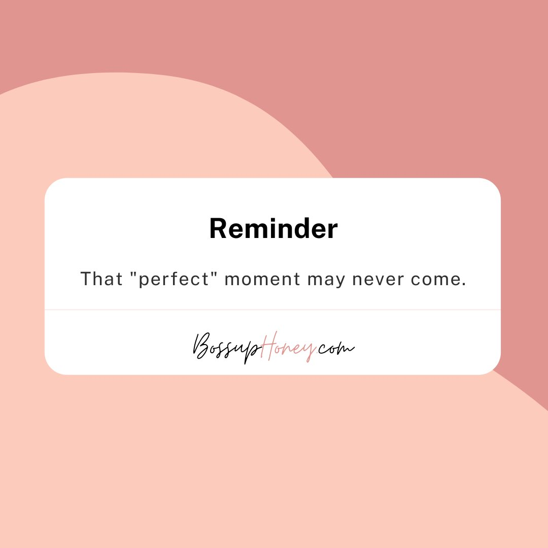 Are you waiting for the perfect moment? That may never happen. Instead, give yourself permission to start from where you are. 🌻🥰#MondayMotivation #InspirationalQuotes #quoteoftheday https://t.co/GcSLumlwwN