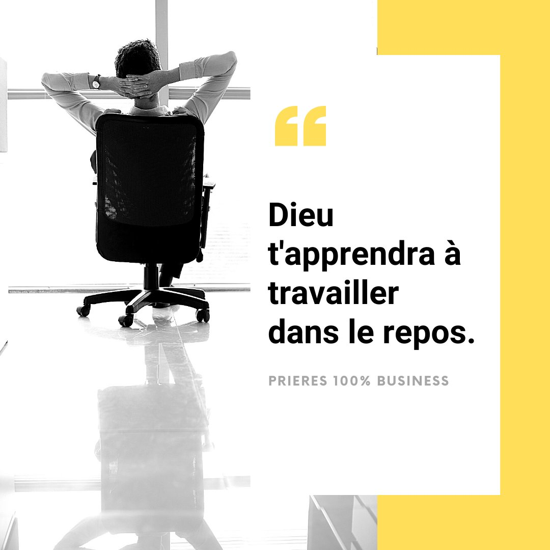 Cette semaine, nous prions pour ton repos. Amen ? 🙏 #prieres100business #quoteoftheday #business #entrepreneurs #entrepreneurlife #entrepreneurship #ladyboss #chretien #priere #success #God #Godfirst #inspiration #motivation #leadership #haveabreak #blessed https://t.co/c5Gq2ZbSvv