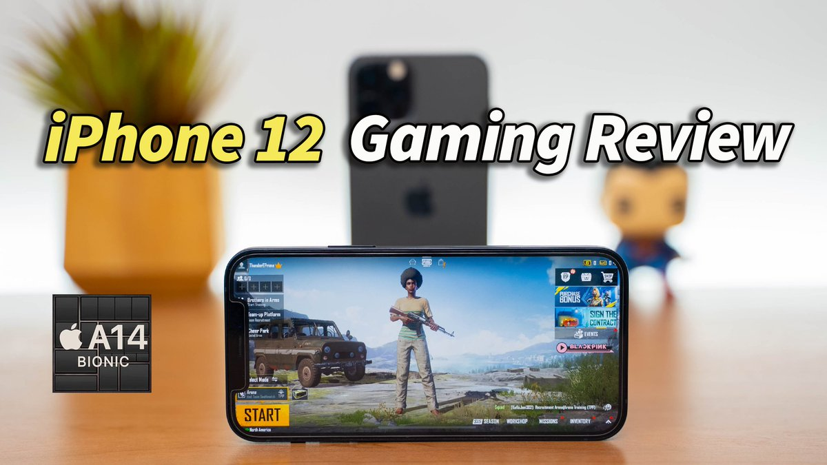 NEW VIDEO!!! iPhone 12 Full Gaming Review: A14 Bionic! >>>>>>>>>https://t.co/bI9qfEx2ym Enjoy!  #iPhone12 #iPhone12Pro https://t.co/NDVssr0seH