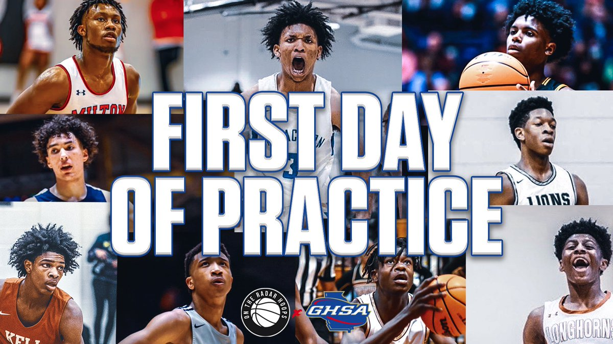 The Road to the Championship starts today. 🏆 • This is the first official day of practice for Georgia High Schools. 🙌🏽 https://t.co/5bdfKhgopv