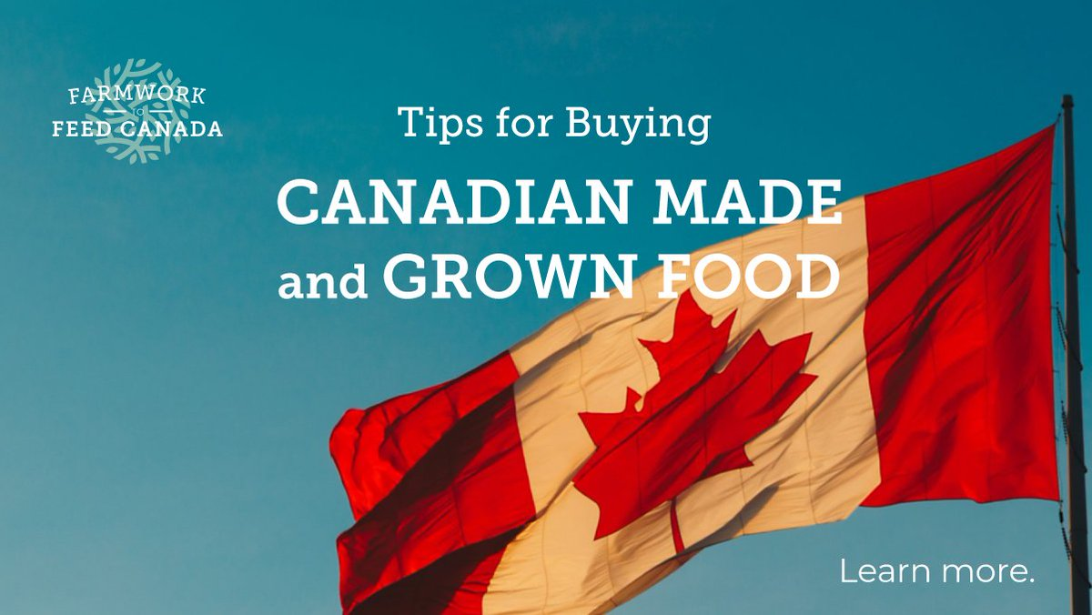 In Canada, we're used to having access to a wide range of products from around the world in our supermarket. With COVID-19, more Canadians are interested in buying locally-made/grown products.   https://t.co/xQxPpVlmXB  #FW2FC #CdnAg #Covid19 #canadianfarmers https://t.co/PnMMSeiamA
