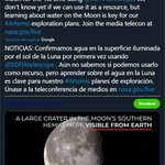 Image for the Tweet beginning: 🌑😱#JimBridenstine, administrador de la #NASA,