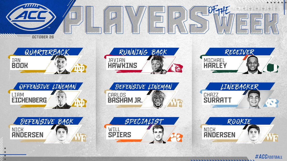 Big time performances from these Players of the Week!  Read more » https://t.co/0Gl3kNEVsl https://t.co/KtHkFOTnlN