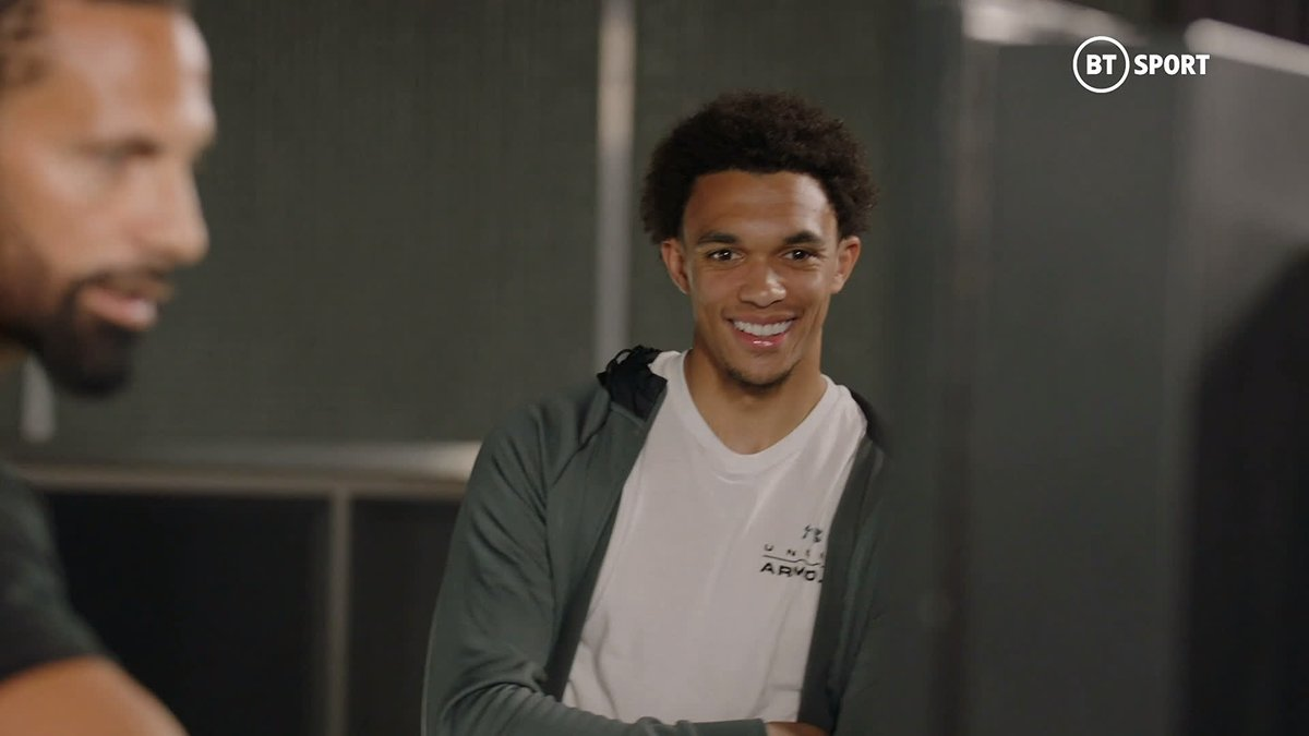 Last season, @TrentAA and @andrewrobertso5 provided 31 Premier League goals or assists! 🤯 Listen, in my day this never, ever, EVER happened! 🧠 @rioferdy5 gets Liverpools flying full-backs to explain exactly how they did it - fascinating! #BetweenTheLines (Part 2/3)