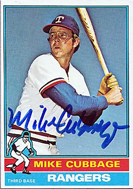 Success today with Rangers and Twins third baseman Mike Cubbage who coached for the Mets, Astros, and Red Sox following his playing career.  Cubbage also hit for the cycle for the Twins against the Blue Jays on July 27, 1978.  #MikeCubbage #Rangers #Twins #Mets #Astros #RedSox https://t.co/6dQKcgU3FR