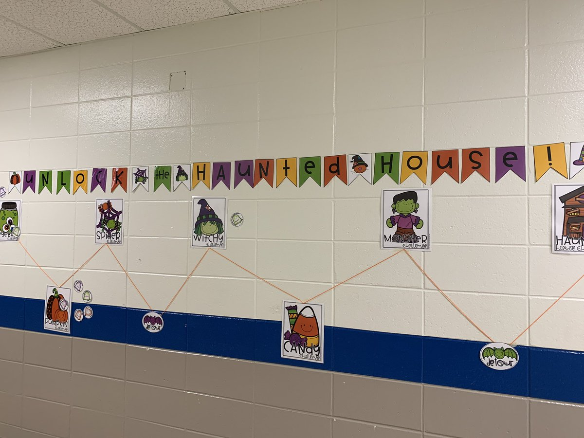 Math centers this week is all about escaping the haunted house! #mathisfun #ccsdfam #bemore @Bostonkidscount https://t.co/yqhZD2xE4m