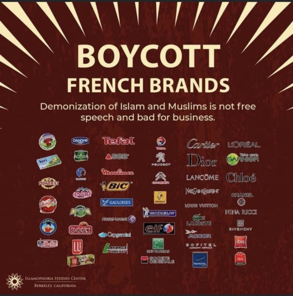The freedom to reject you. #boycottfrance https://t.co/DY73gNmHJQ
