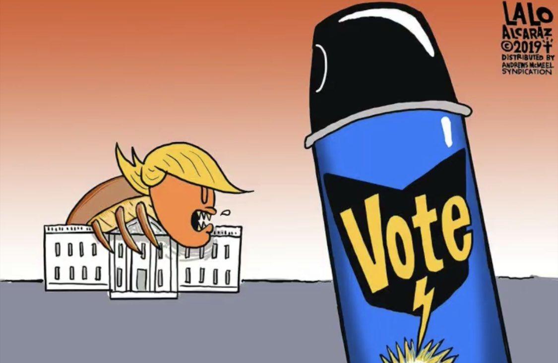 #VotHimOut #VOTE @laloalcaraz