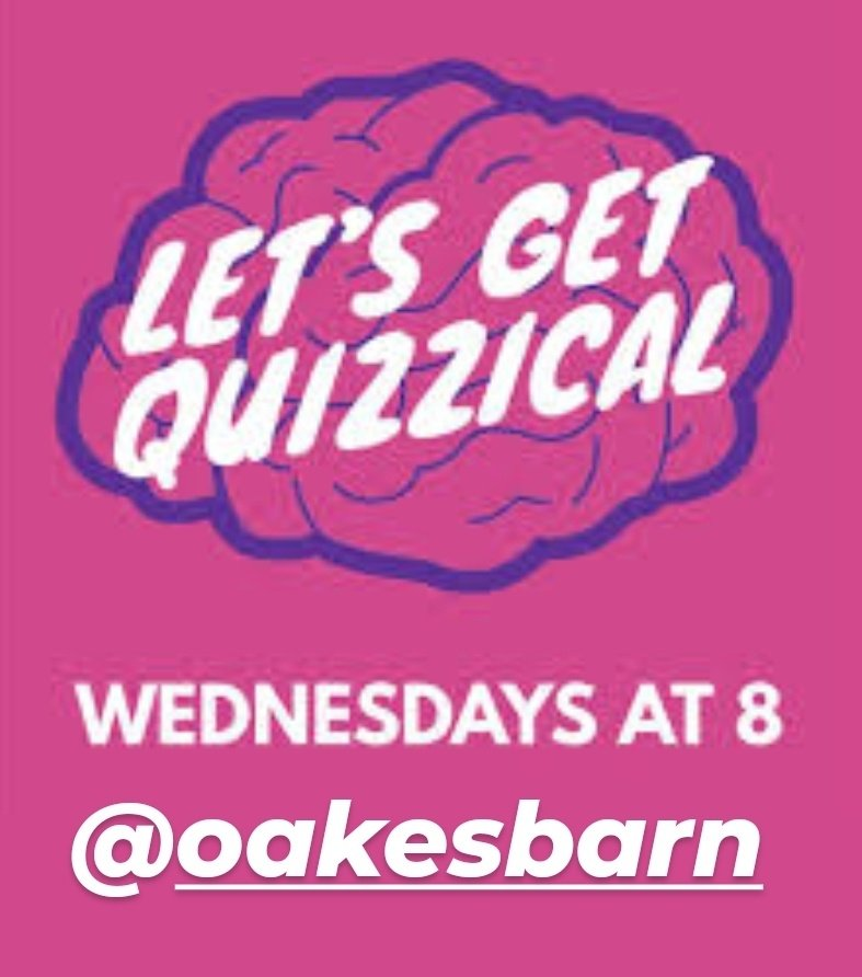 Grab a team and test your general knowledge this Wednesday @oakesbarn £1 per person. Max 6 people per team @wscBeer @ourburysteds #QuizTime #WednesdayWisdom #pubquiz https://t.co/tHDMmOQwF6
