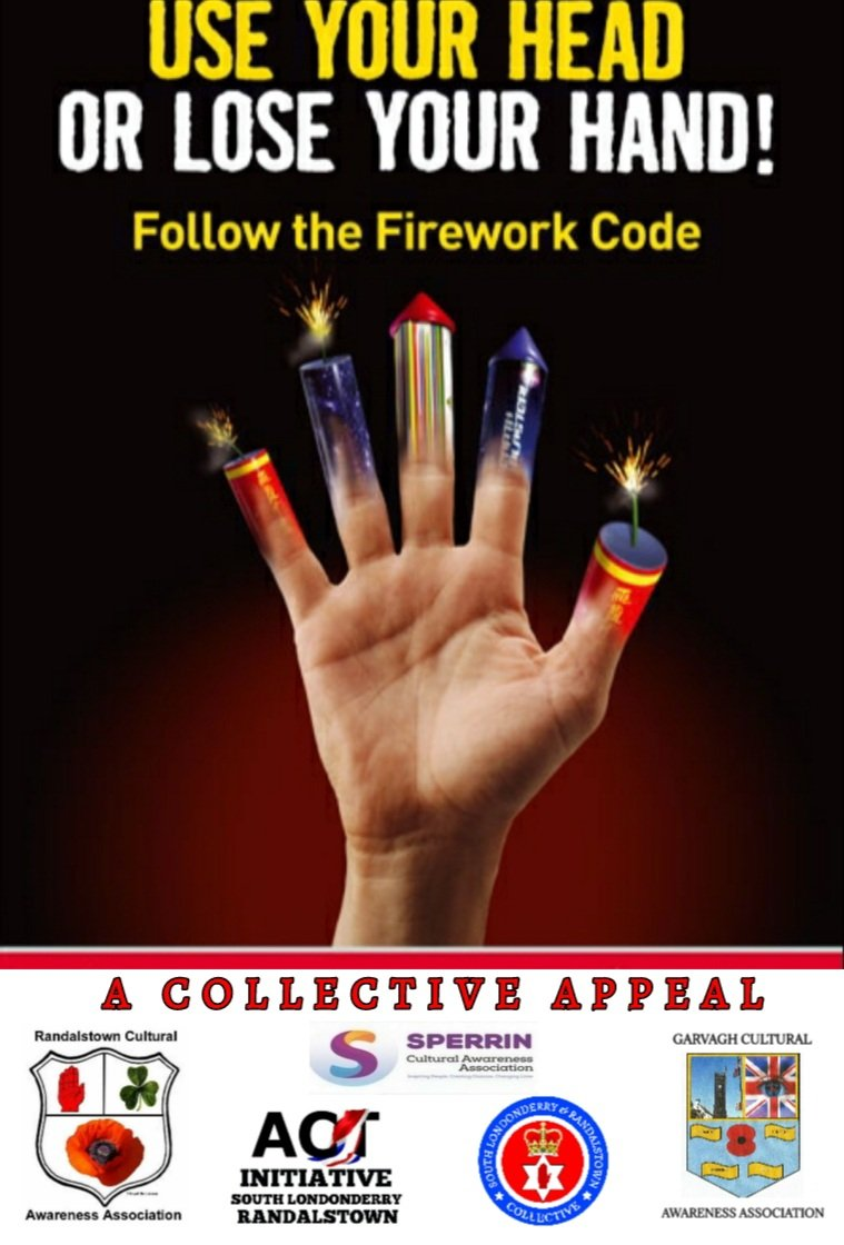 ⚠️ WARNING⚠️    Fireworks are extremely dangerous and can cause serious harm.    Emergency services are already battling COVID-19. 🚨🚑🚒   This year DON'T ADD TO THE PROBLEM   #collaboration #collective #country #culture #community https://t.co/TbJbZbJZOy