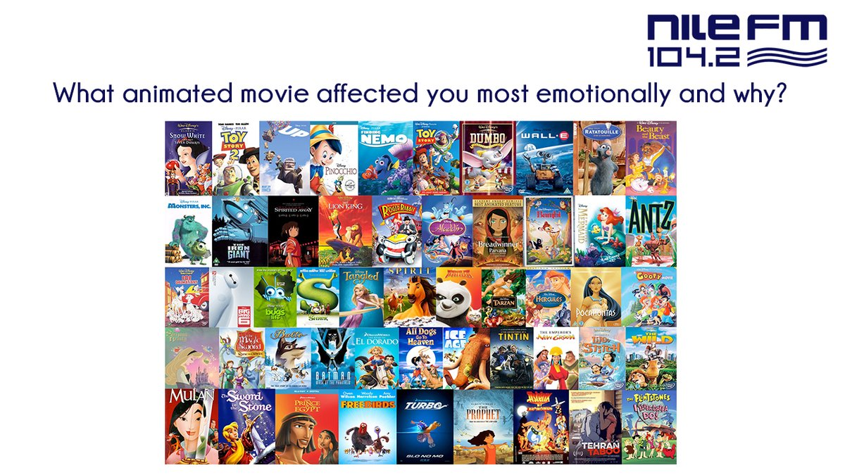 Animated movies can be quite powerful & effective in delivering a message, so which animated movie affected you most emotionally? 🤔 #Disney #WarnerBros #animation https://t.co/KPLKCmRDyO