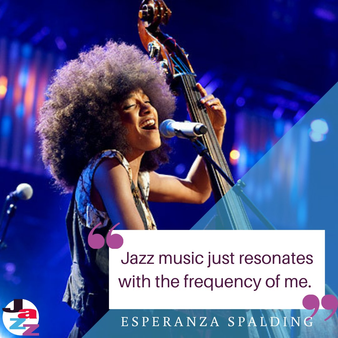 Happy Monday! Our #MusicianMonday quotes today is coming from, American bassist, Esperanza Spalding. . . . #ColaJazz #Jazzsc #SCJazz #SCStrong #jazz #jazzmusic #music #foundation #colajazzfoundation #domore #bemore #jazzmore #bestofsouthcarolina #musician https://t.co/pNCe1NWMMW
