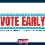 This week is the last week of #EarlyVoting in Texas. Vote early in the 2020 General Election now through this Friday, October 30th. You can find a convenient polling location at https://t.co/PgjbDHrVIS. #HarrisVotes