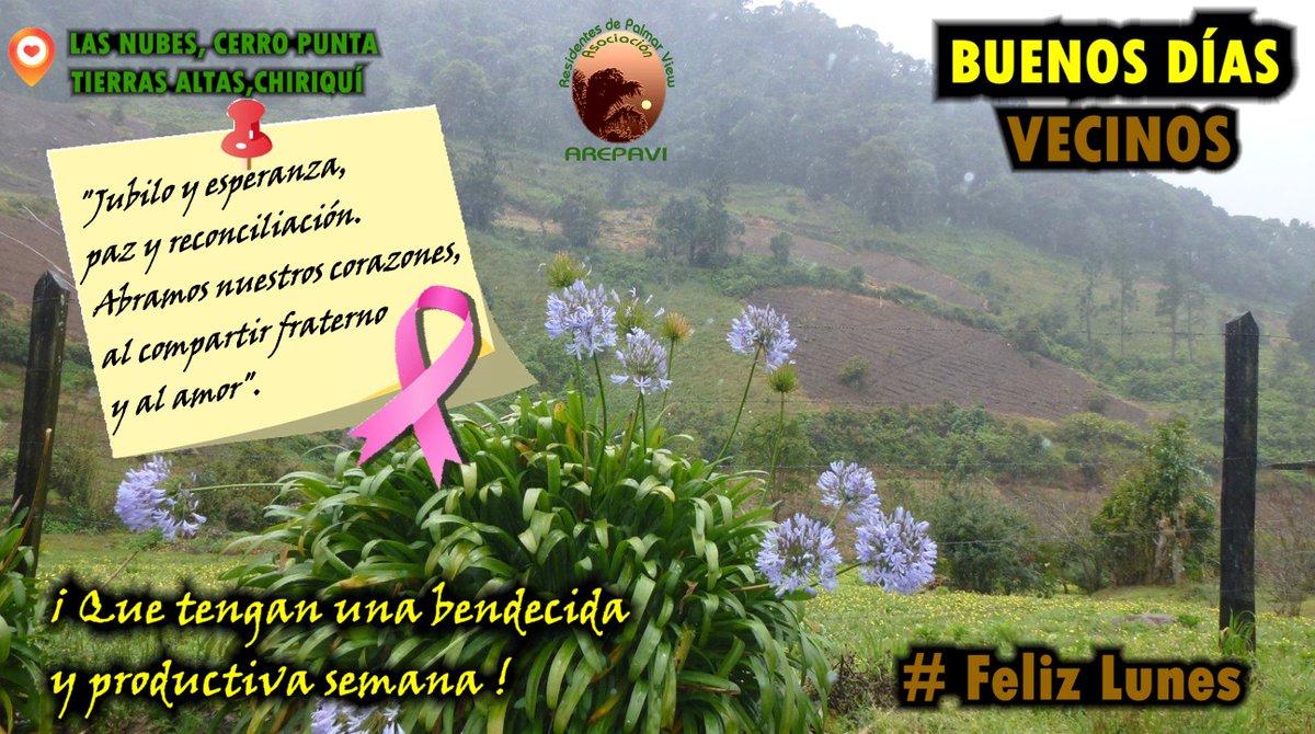 """#BuenLunes  #FelizInicioDeSemana. """"Jubilo y esperanza, paz y reconciliación. Abramos nuestros corazones, al compartir fraterno y al amor"""". Cuídense mucho, cuidemos a los adultos mayores #CuidarteEsCuidarnos. 🙏 por las victimas del #Covid_19 y #Cancer 💔 y por sus familiares. https://t.co/wdSyawbdwU"""