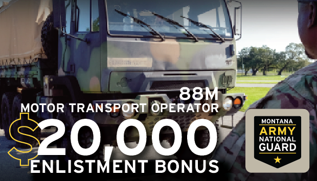 Earn your Military AND Civilian CDL as an 88M - Motor Transport Operator.  Are you looking at branching into the world of truck driving and need a good place to start?  Let us teach you everything you need to know about driving some of the largest vehicles the military offers!