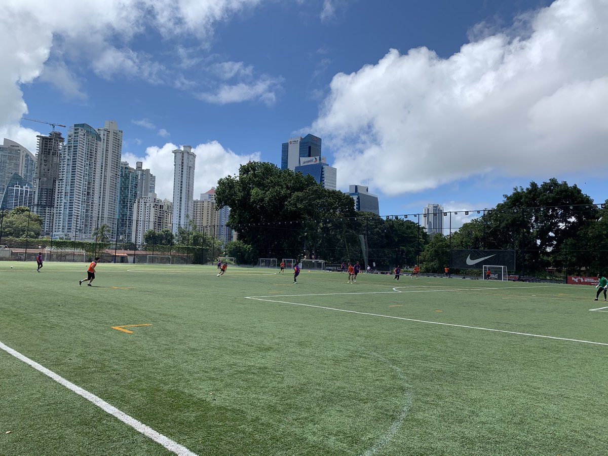 First training in Panama City...under 29 degrees celcius...HOT!! ⁦@ForgeFCHamilton⁩ https://t.co/EcbqFFPU4o