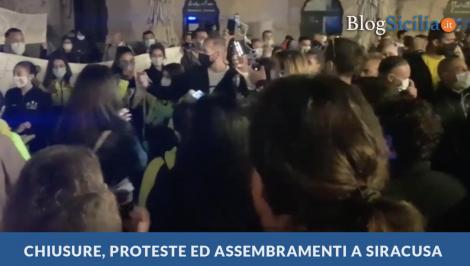 A Siracusa ancora proteste ed assembramenti contro il Governo - https://t.co/gZ9wMVqXOt #blogsicilianotizie