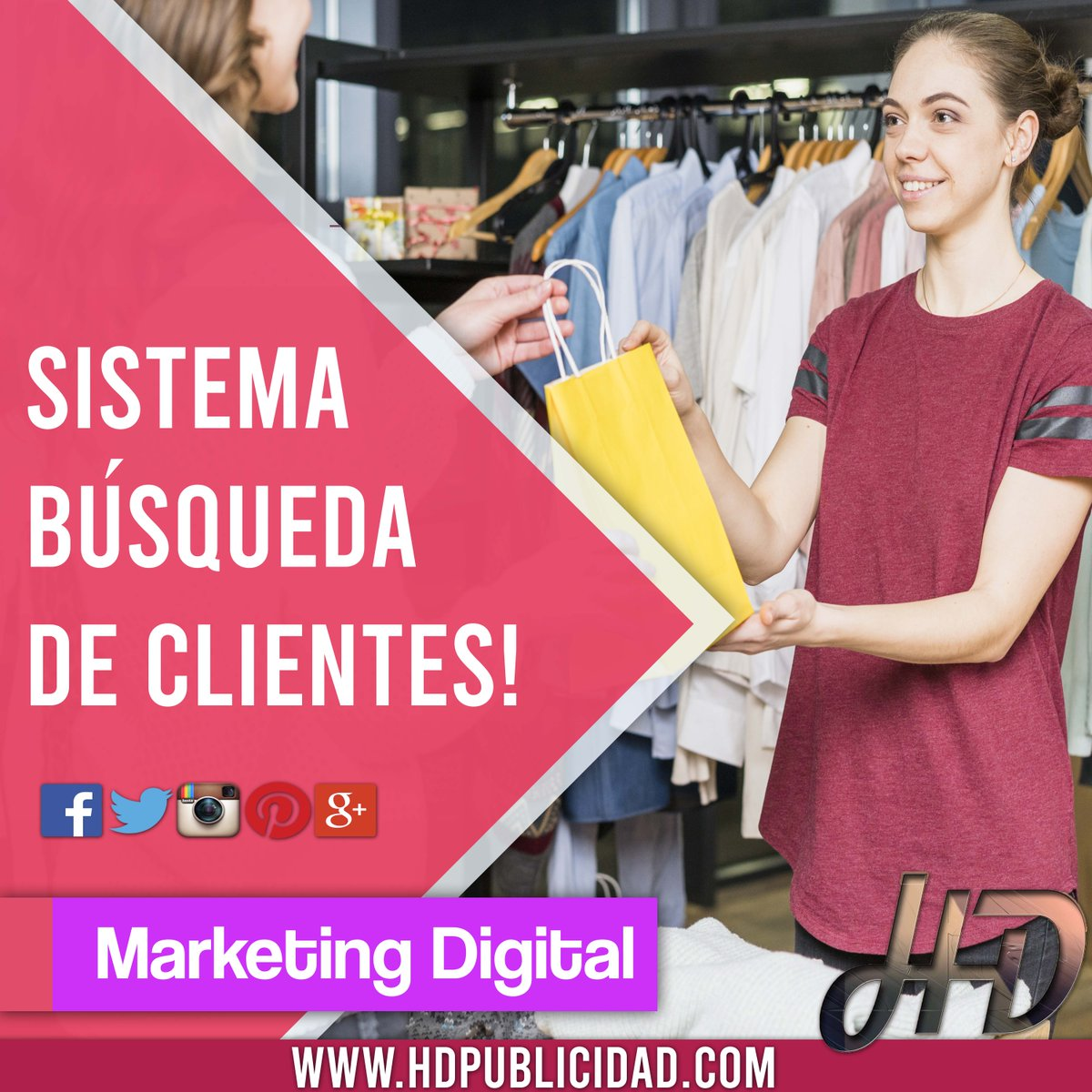 En #Hd te ayudamos a conseguir #Nuevos #Clientes🙌 📊💪 ~Aumentamos tus #Ventas📣~ >Marketing Digital >Aumentamos tus ventas >Publicidad en Redes sociales Consultanos HD Agencia Digital https://t.co/KHsJe35Vor ▶️📱Whatsapp: 0341-6663229 info@hdpublicidad.com https://t.co/W66Zj0vJiE