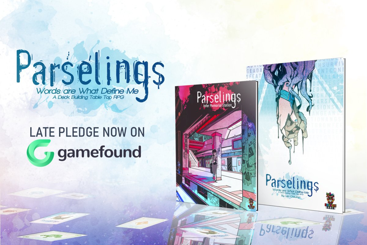 Did you miss the @parselings Kickstarter? Parselings Late Pledging is open today on Gamefound! https://t.co/ehZ08wRn2V #ttrpg #rpg #parselings #indiegame #Kickstarter https://t.co/BkGeyld9ga