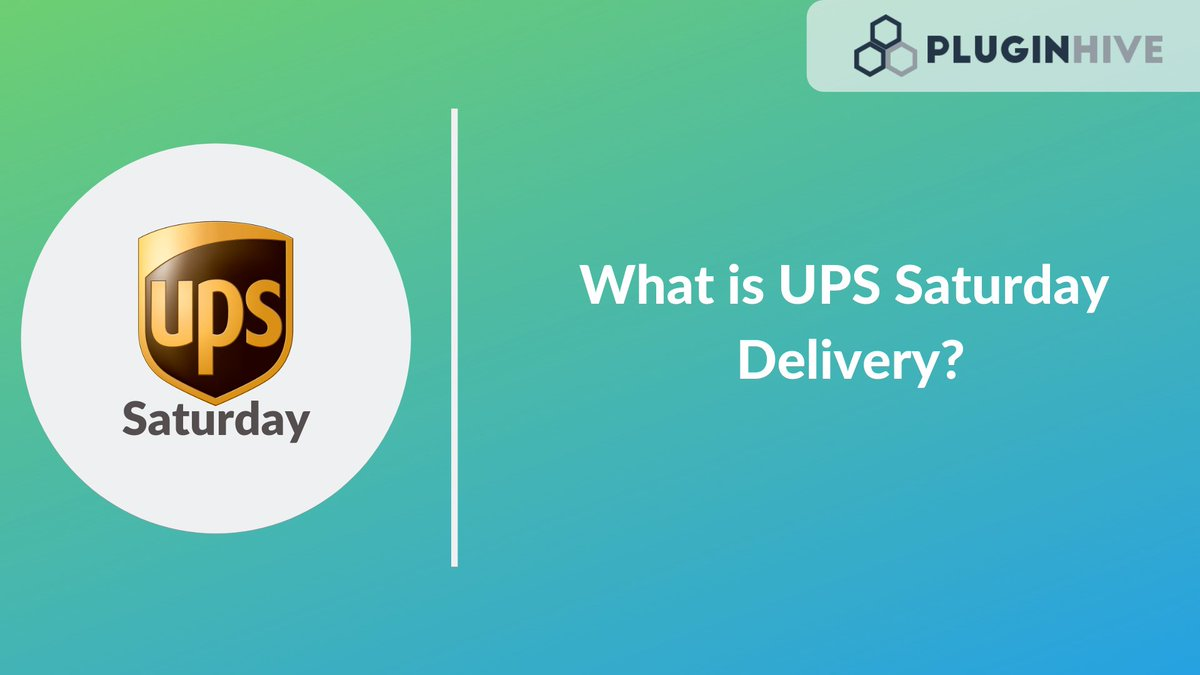 Now impress customers and increase sales by providing Saturday delivery using WooCommerce UPS Shipping plugin: https://t.co/bpdTU66O69   #WooCommerce #PluginHive #WordPress #plugin #plugins #onlinebusiness #shipping #delivery #shipment #business #ecommerce #ups https://t.co/GMrgrNb7Zu