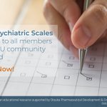 Image for the Tweet beginning: #PsychiatricScales are available to all