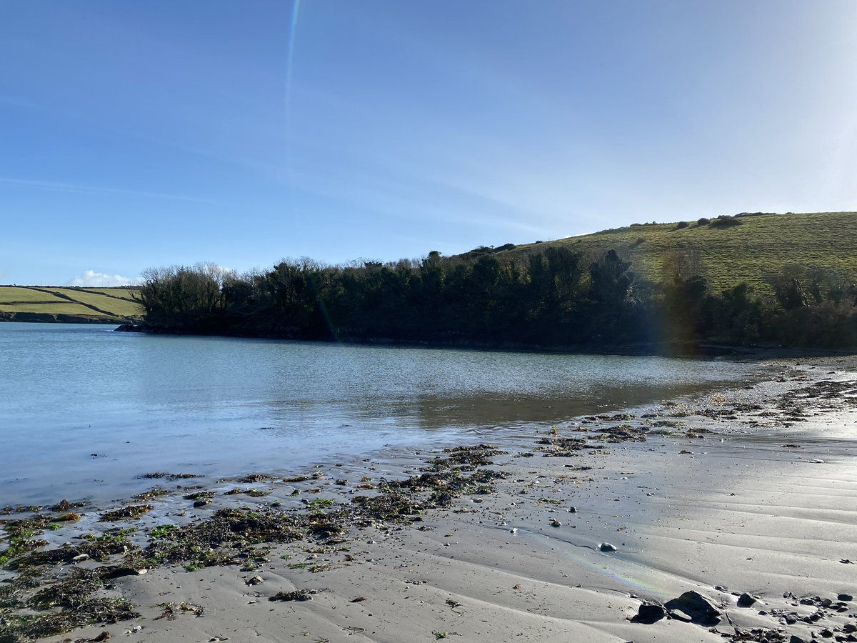 Another stunning day 😎  #Octobersky #BankHolidayWeekend #bankholidaymonday #UnionHall #WestCork #Cork #October26th https://t.co/zBxFePQ06Y