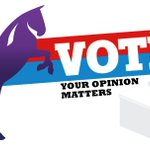 Image for the Tweet beginning: VOTE!  ––– YOUR OPINION