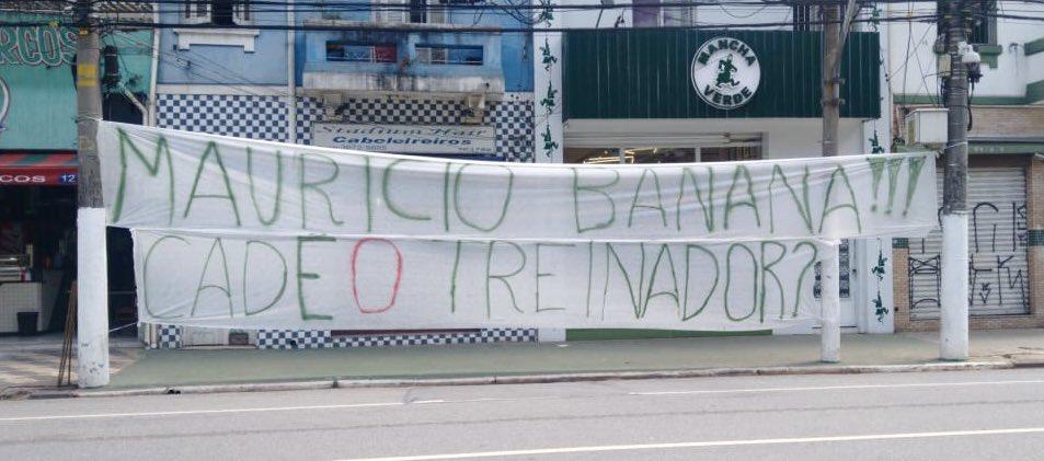 Cadê o novo técnico? Organizada do Palmeiras cobra diretoria por demora - Palmeiras