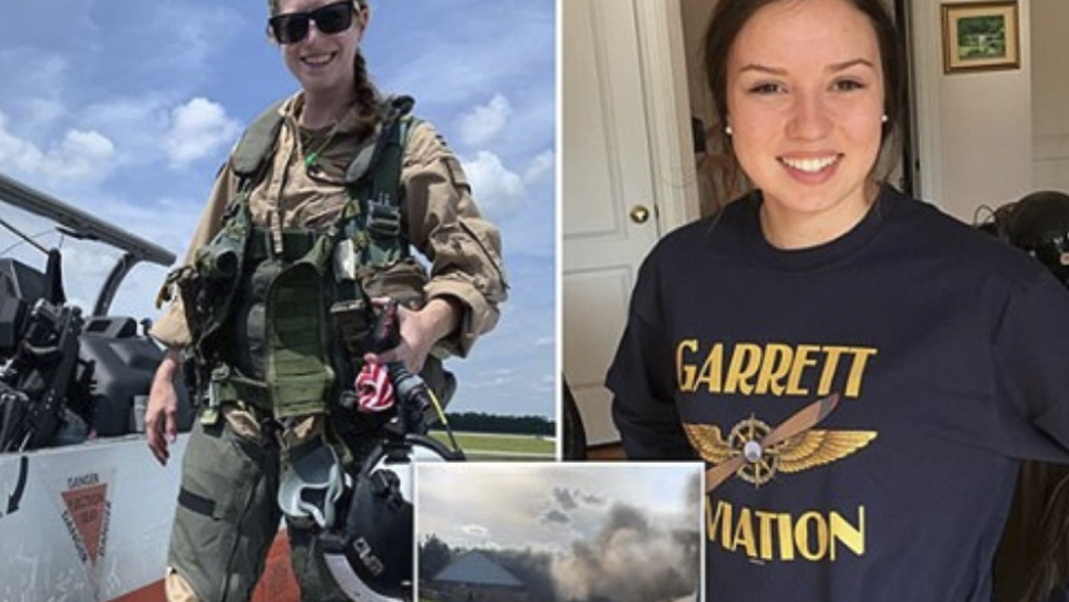 PICTURED: US Navy flight instructor, 30, and her 24-year-old student pilot killed in plane crash https://t.co/eviG8pEVgi https://t.co/d28yfJJILa