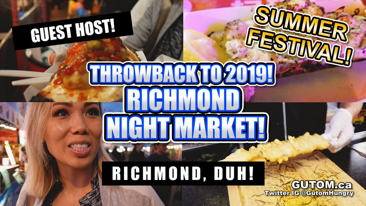 Throwback to Richmond Night Market 2019! @RmdNightMarket https://t.co/R90kuIHk4R #metrotown #eastvan #food #foodies #foodblog #vancouver #vancouverbc #yvreats #yvr #vancity #yvrfoodies #vancouverfood #vancouverfoodie #vancouverfoodies #burnaby #newwest #surreybc #richmondbc https://t.co/UKFxhTmId4
